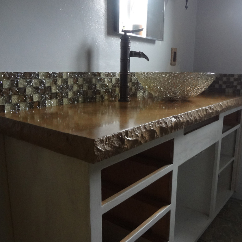 Concrete Vanity Counter