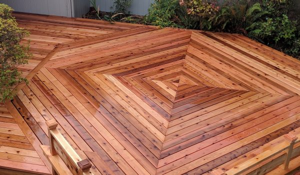Cedar Deck Replacement Lincoln St Eugene, Or